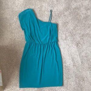 Teal size L dress
